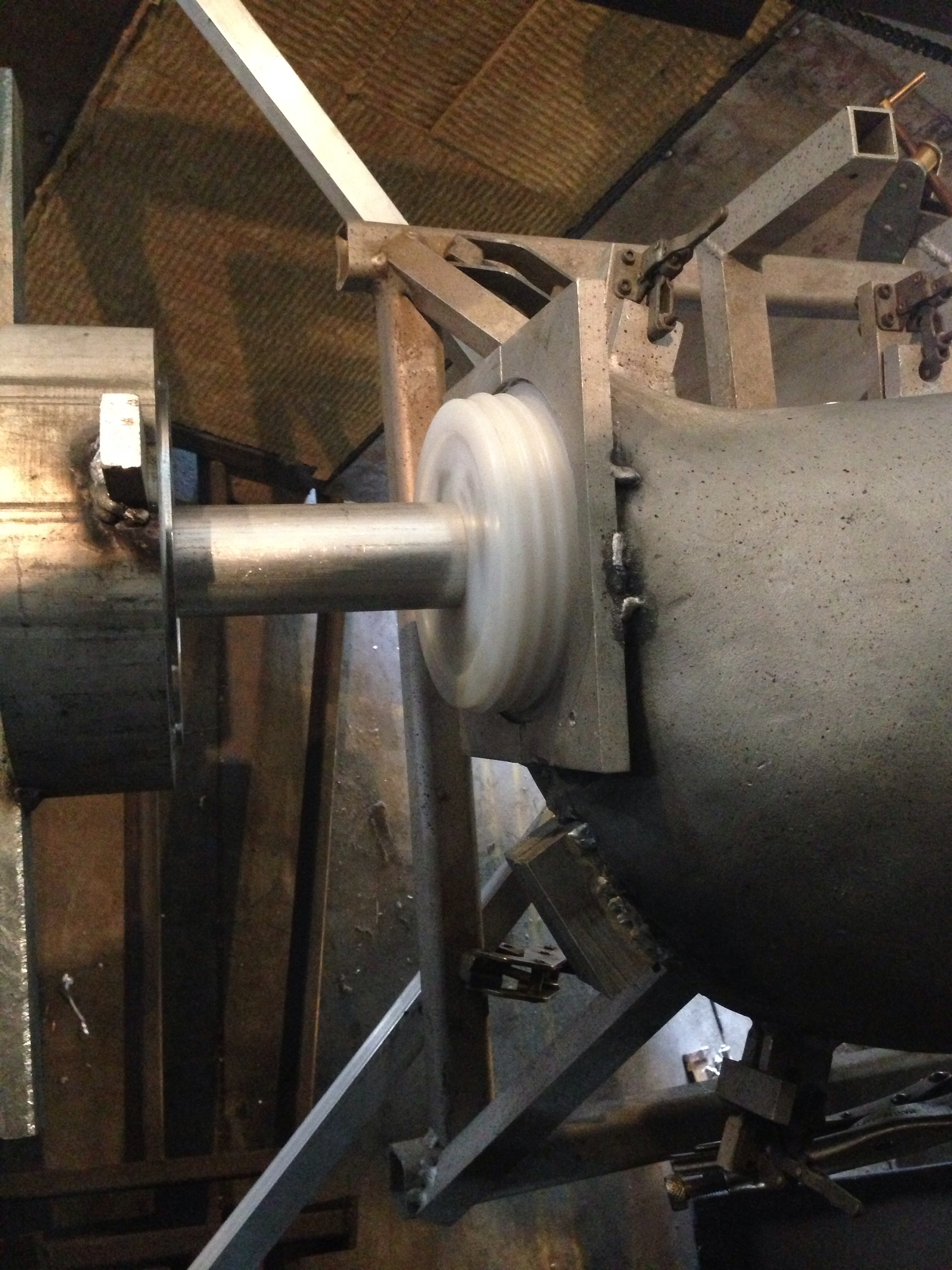 Picture of First Part Out of Machine