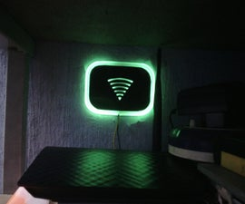 DIY Glowing LED Wi-Fi Indicator