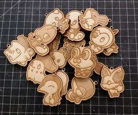 Pokemon Birch Keychains
