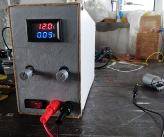 DIY Lab Bench Power Supply From Scratch