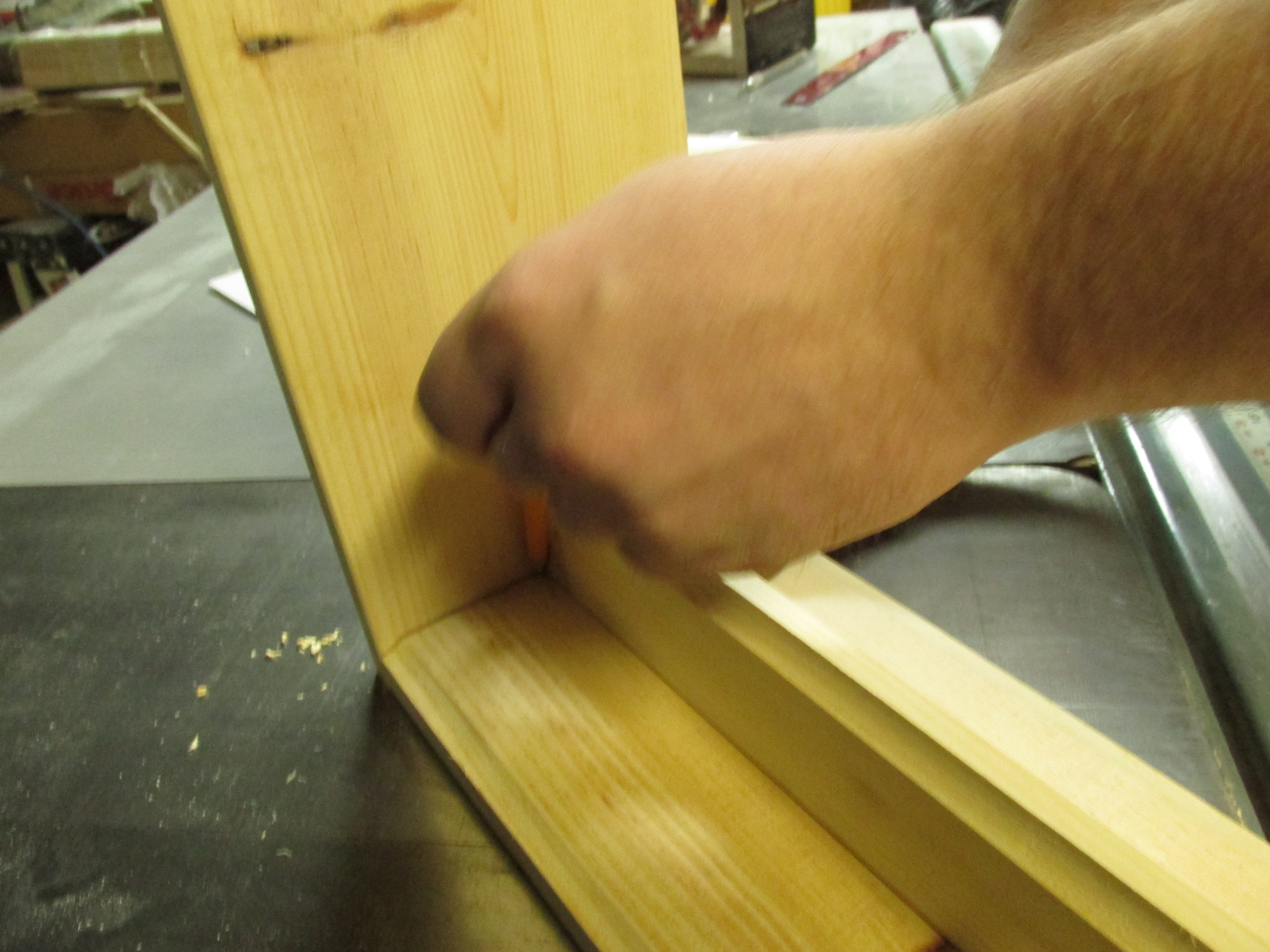 Picture of Marking and Drilling the Screw Placement