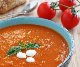 Creamy Homemade Tomato Soup