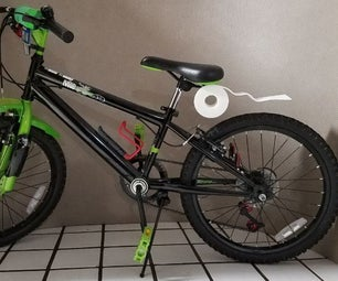 (Un)rolling Along: 3D Printed Seat Bag and Fender