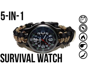 The Ultimate Survival Watch