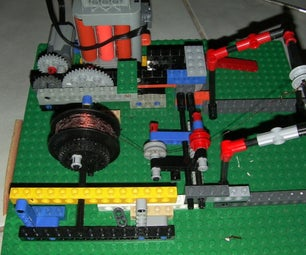 Lego Coil Winder
