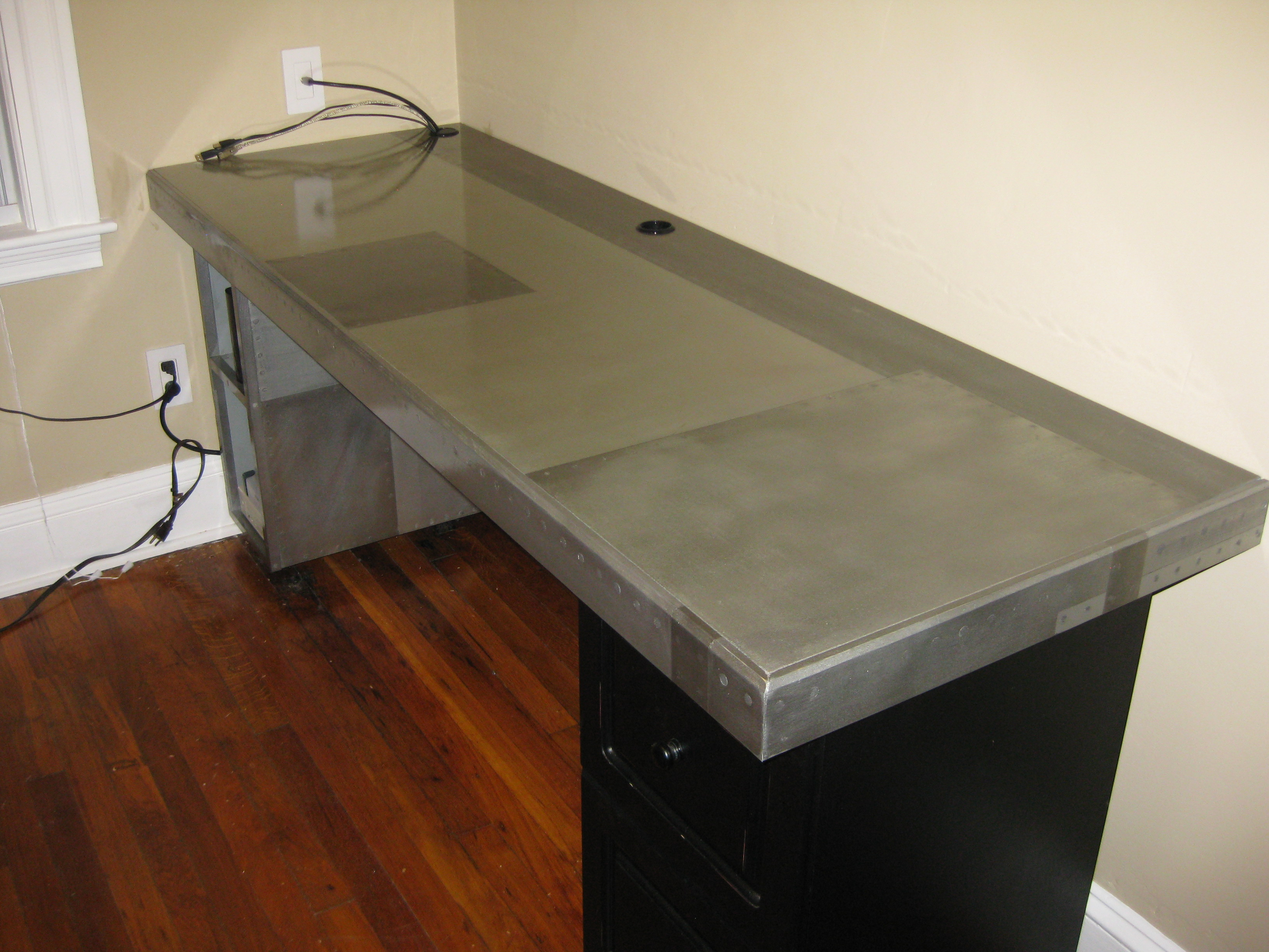 Picture of The Faux Metal Desk