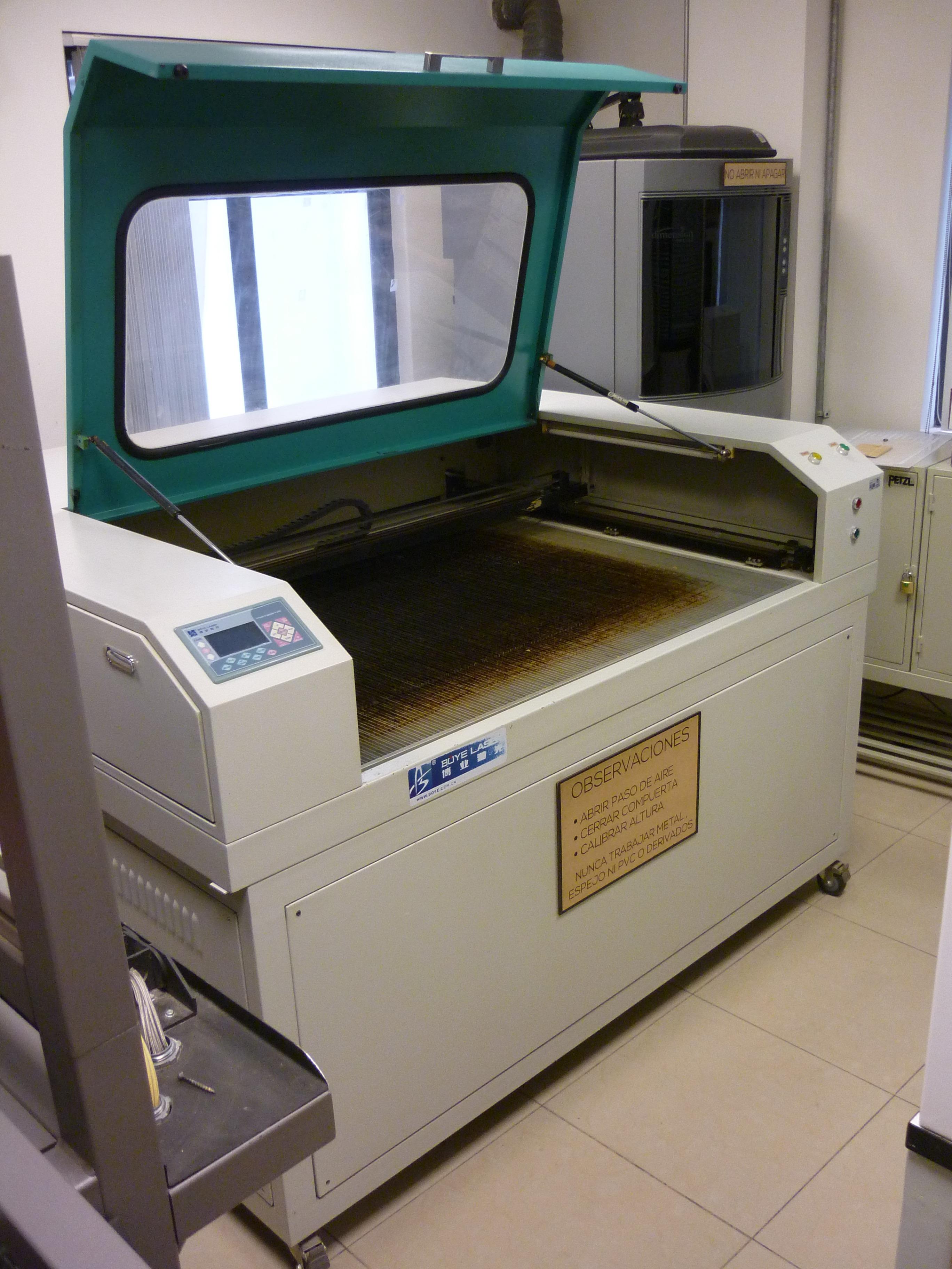 Picture of Laser Cutting Machine Basics