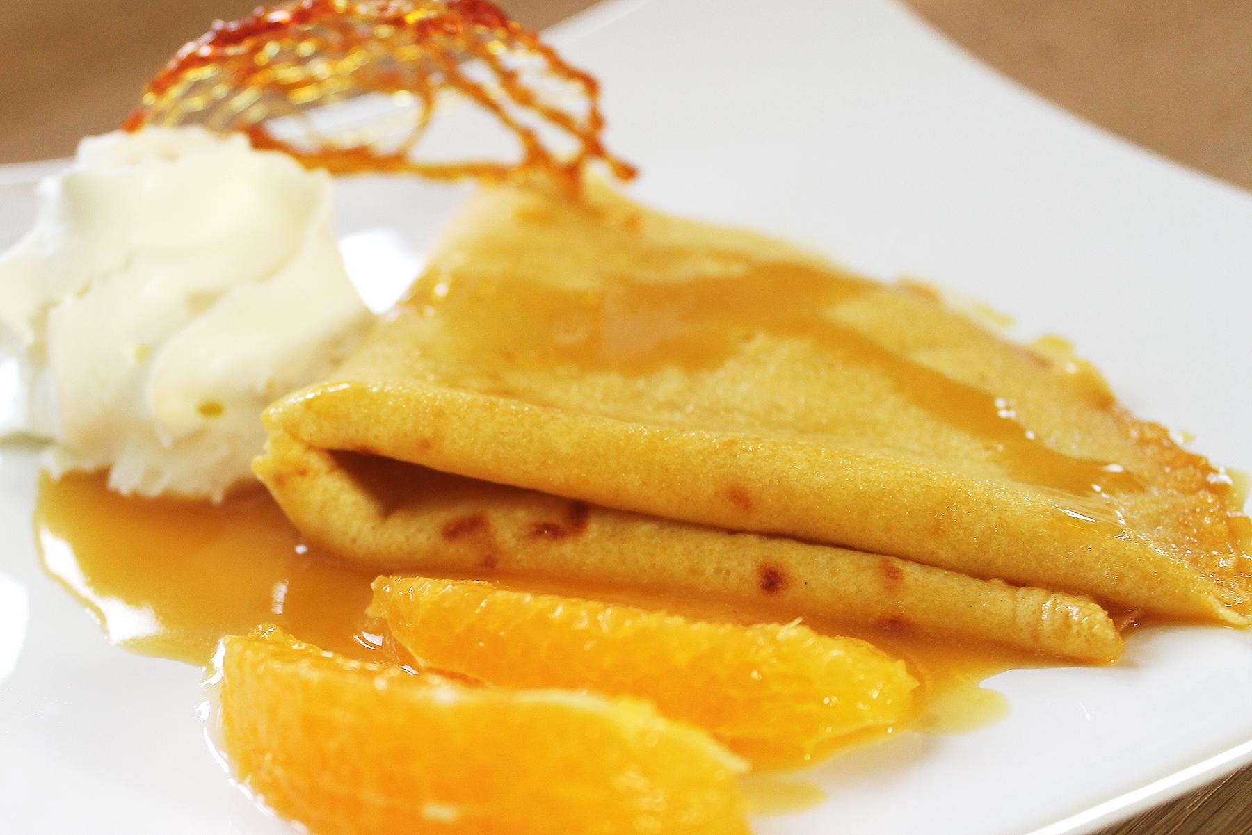 Picture of Crêpes Suzette - French Orange Crepes Dessert