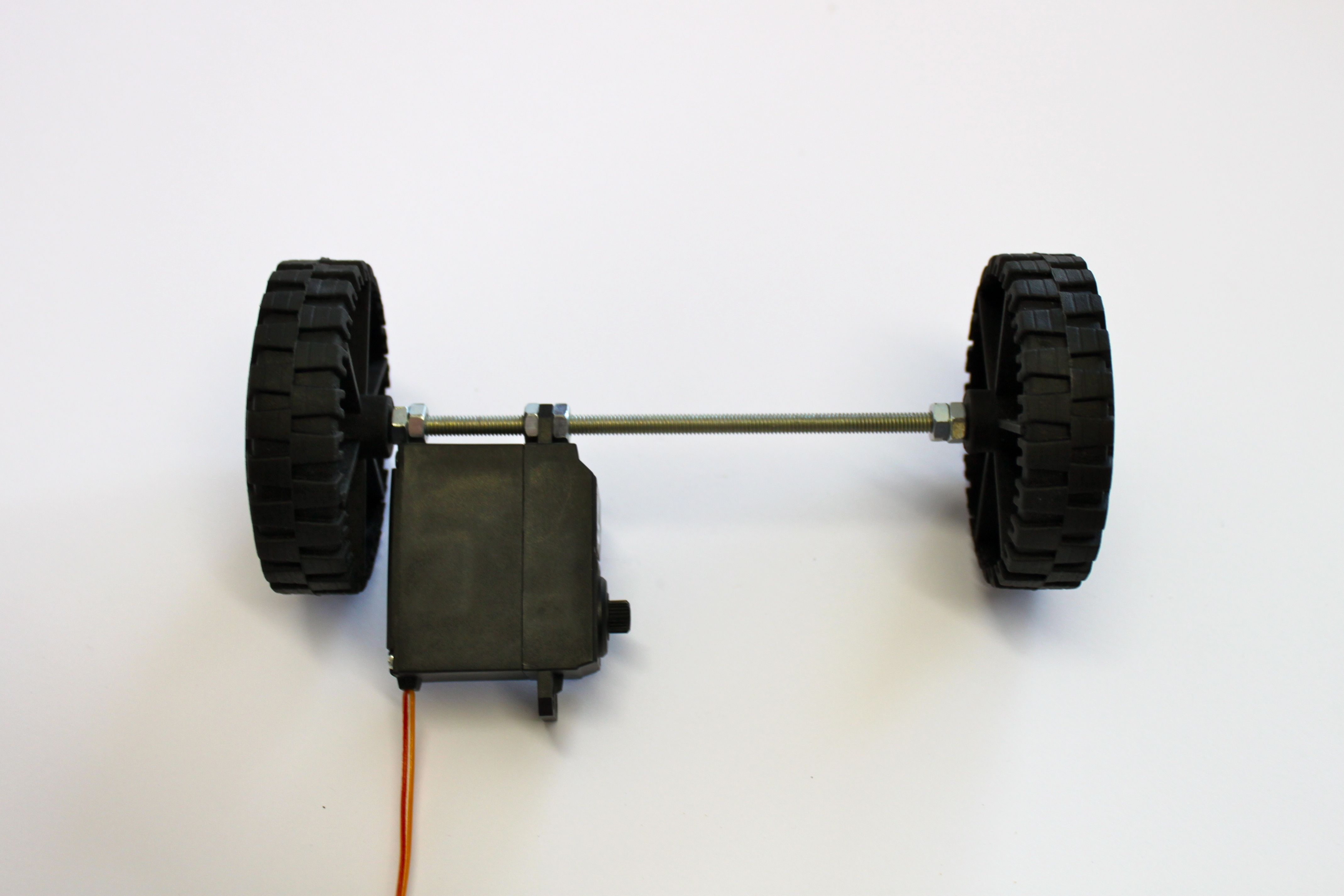 Picture of Front Axle and Wheels