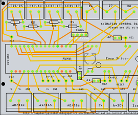 Arduino/Easy Driver Animation Control Board