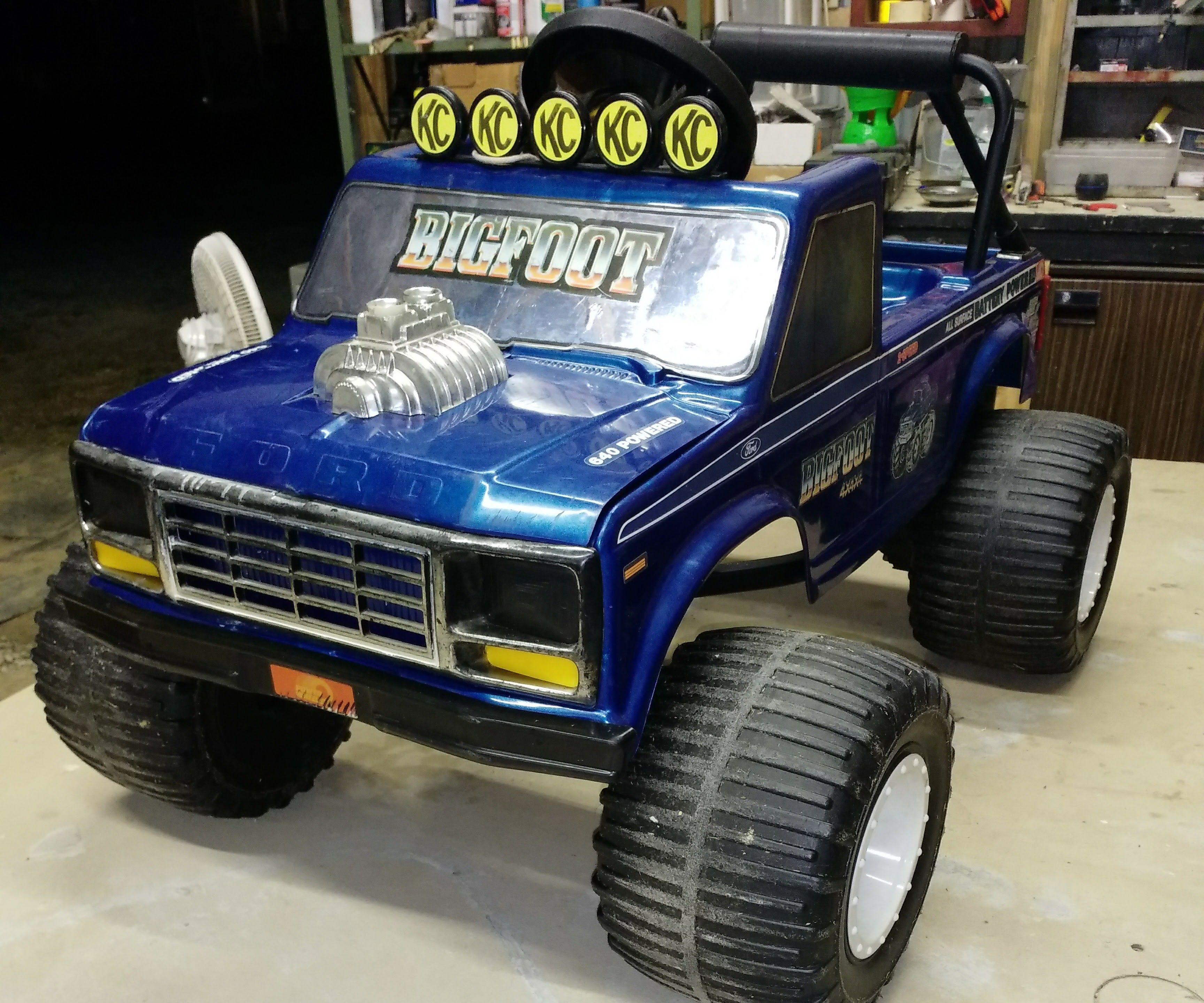 Power Wheels Bigfoot Wiring Diagram Electrical Diagrams Ford F 150 Schematic Installing New Motors On 7 Steps With Pictures