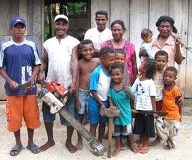 Inventive Blacksmiths of Sorong, West Papua, Indonesia