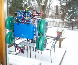 Window Painting Robot (arduino, processing, accelerometer)