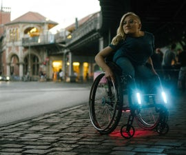 Open Lights MADE FOR MY WHEELCHAIR