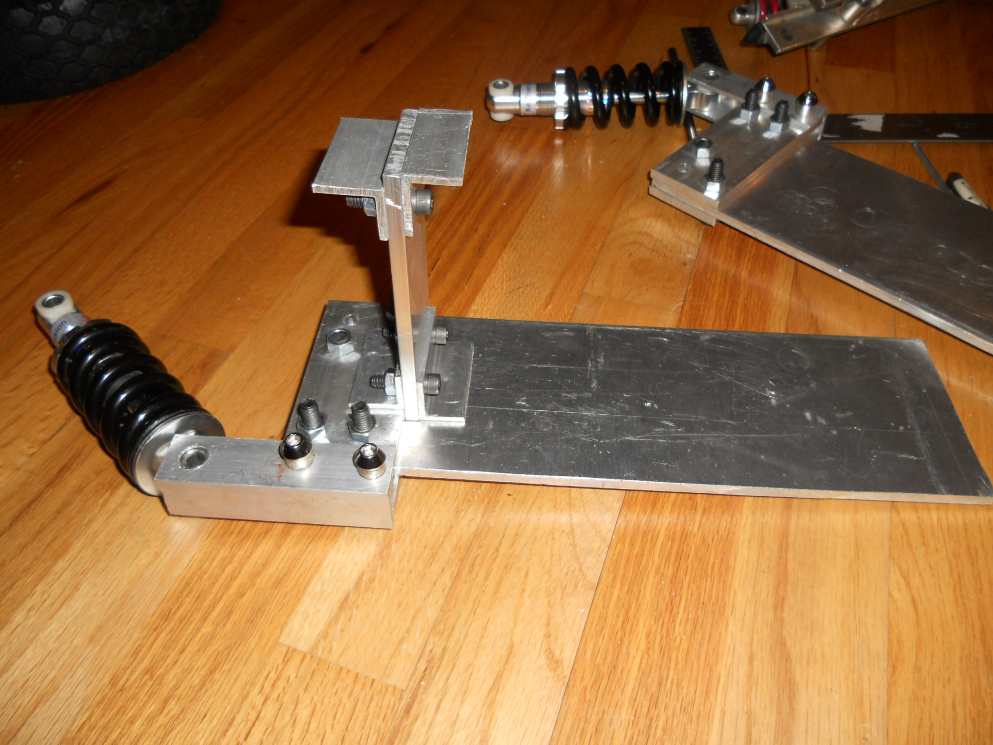 Picture of Rear Suspension Assembly