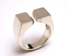 CENTRIFUGAL CAST GENTS RING
