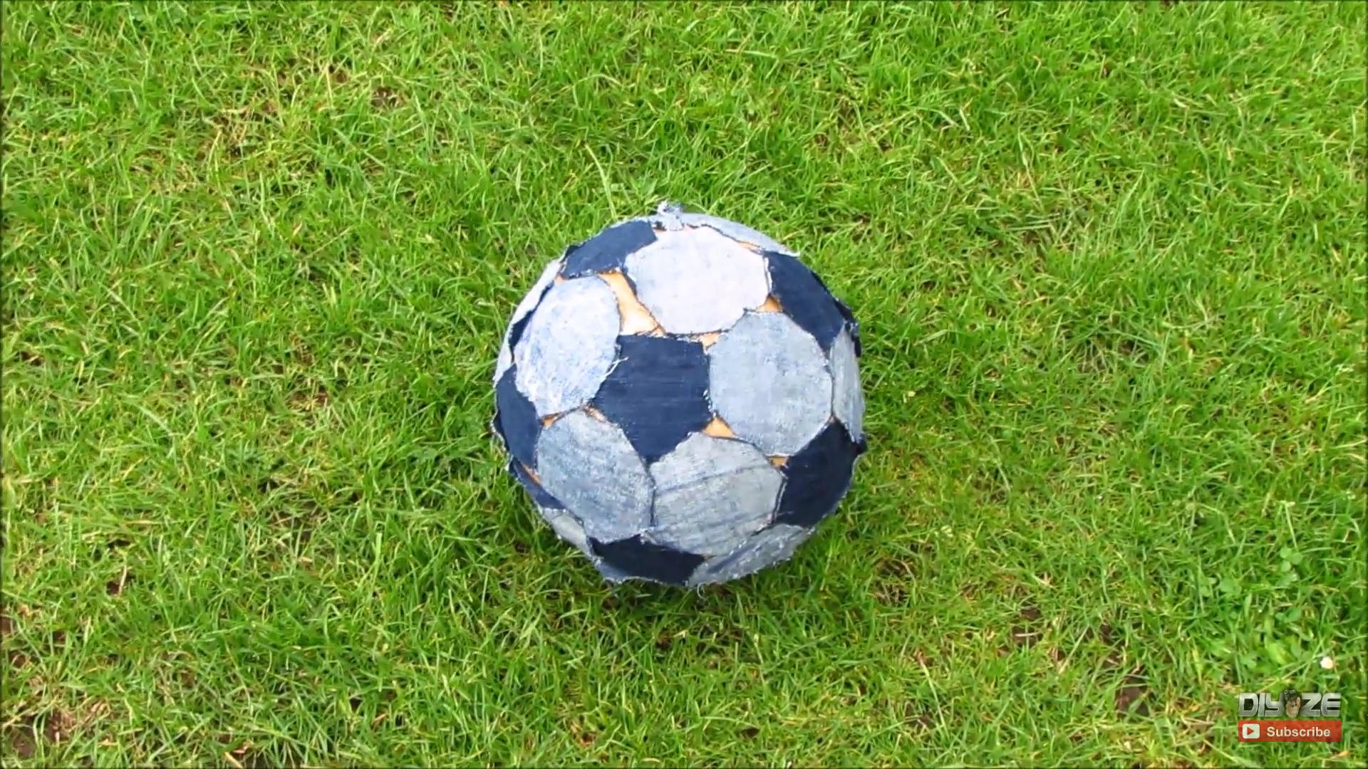 Picture of Homemade Soccer Ball  Football