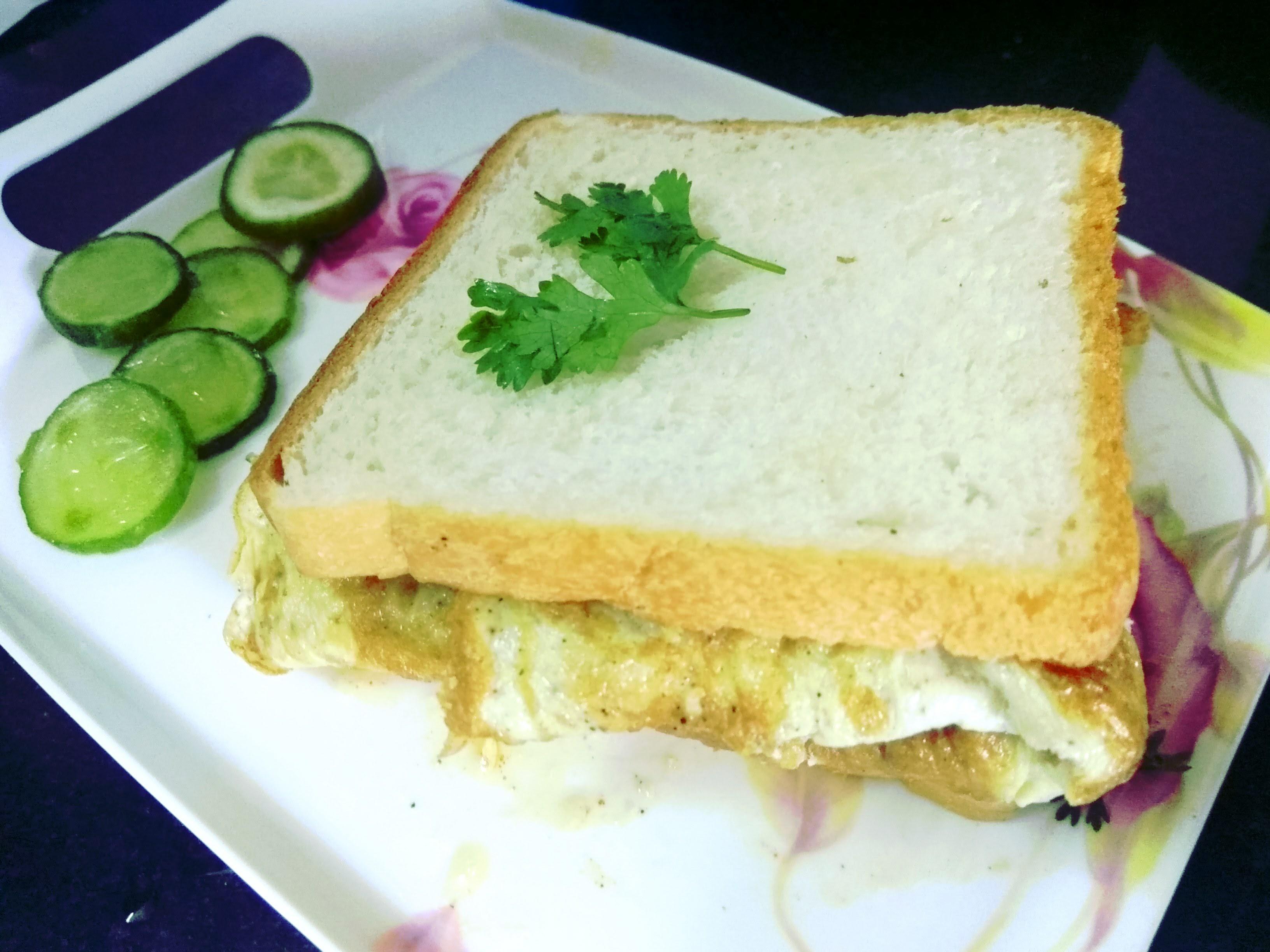Picture of Bread Omelette Sandwich