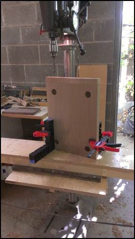 Picture of Joinery: Drilling Holes for Mechanical Connectors