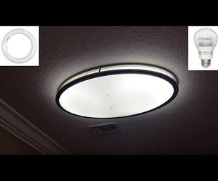 LED Light Conversion From Fluorescent