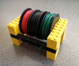 Keep Your Wire Spools Tidy With Legos
