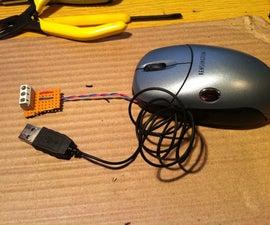 Mouse as door alarm
