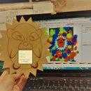 Laser Cut Hedgehog Noteholder