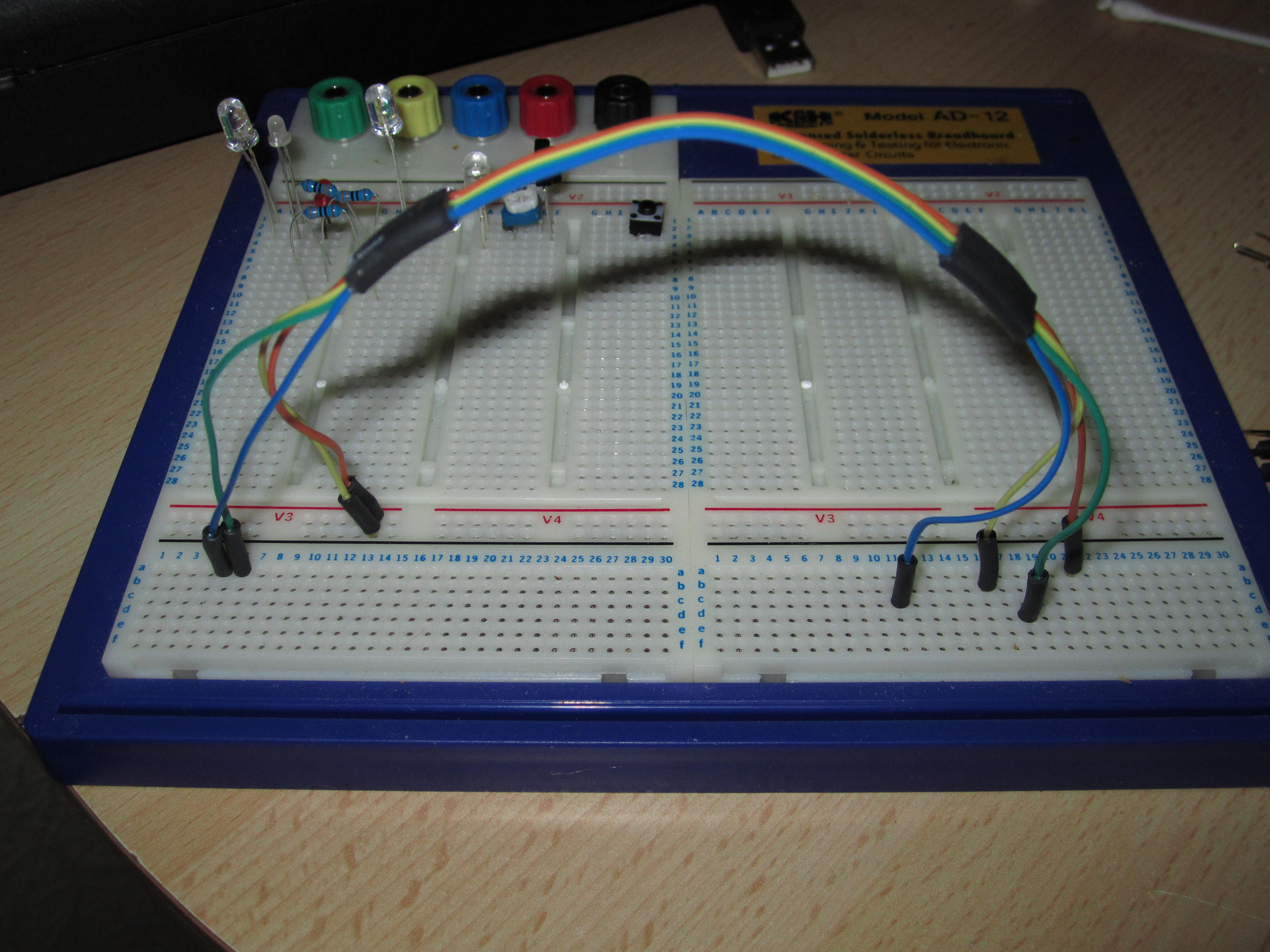 Picture of Colour Coded Breadboard Jump Leads