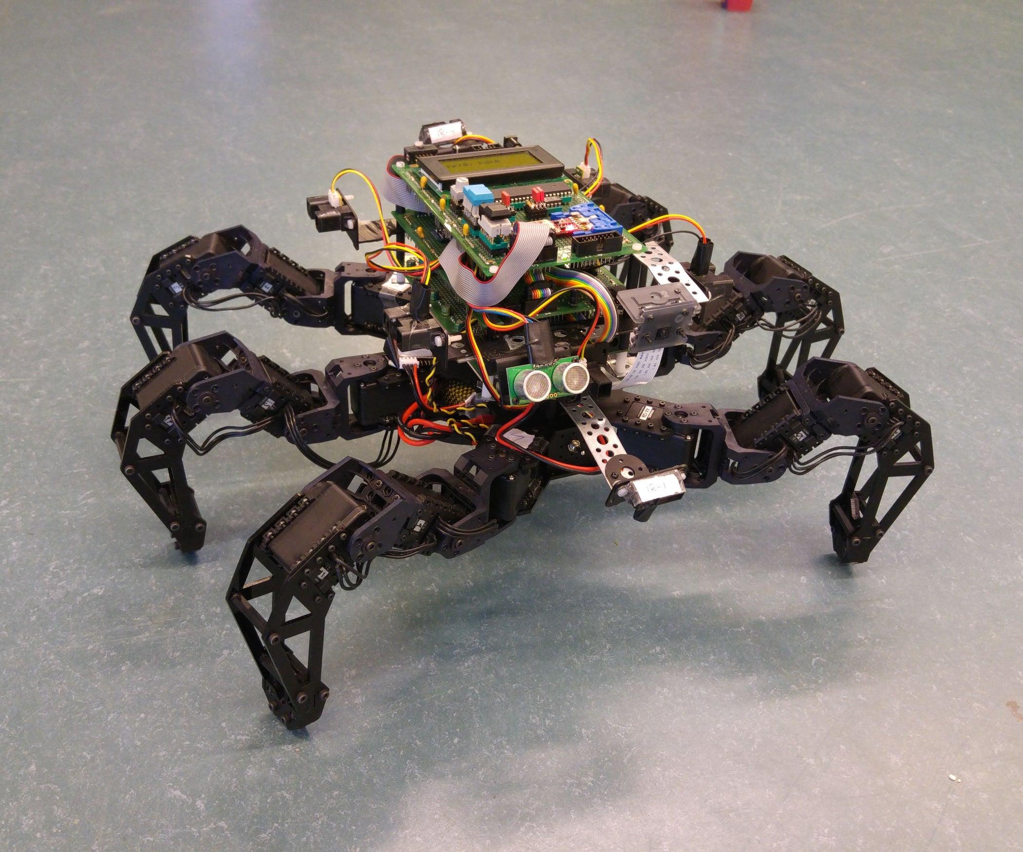 Spider Pig Autonomous Hexapod Robot With Pictures
