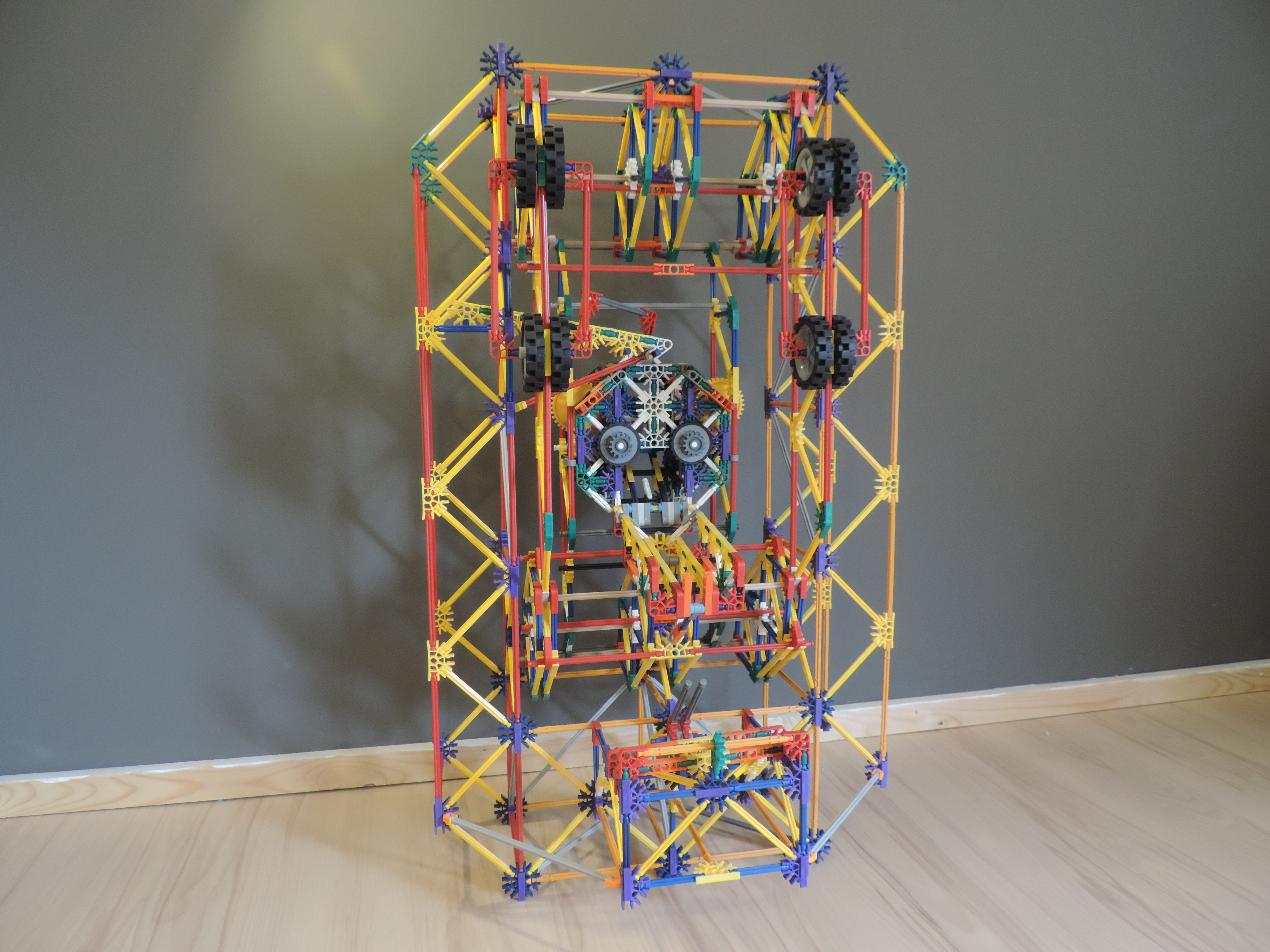 Picture of Knex Ball Mechine Element: Elevating Head Element