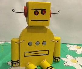 Folk Art Robot