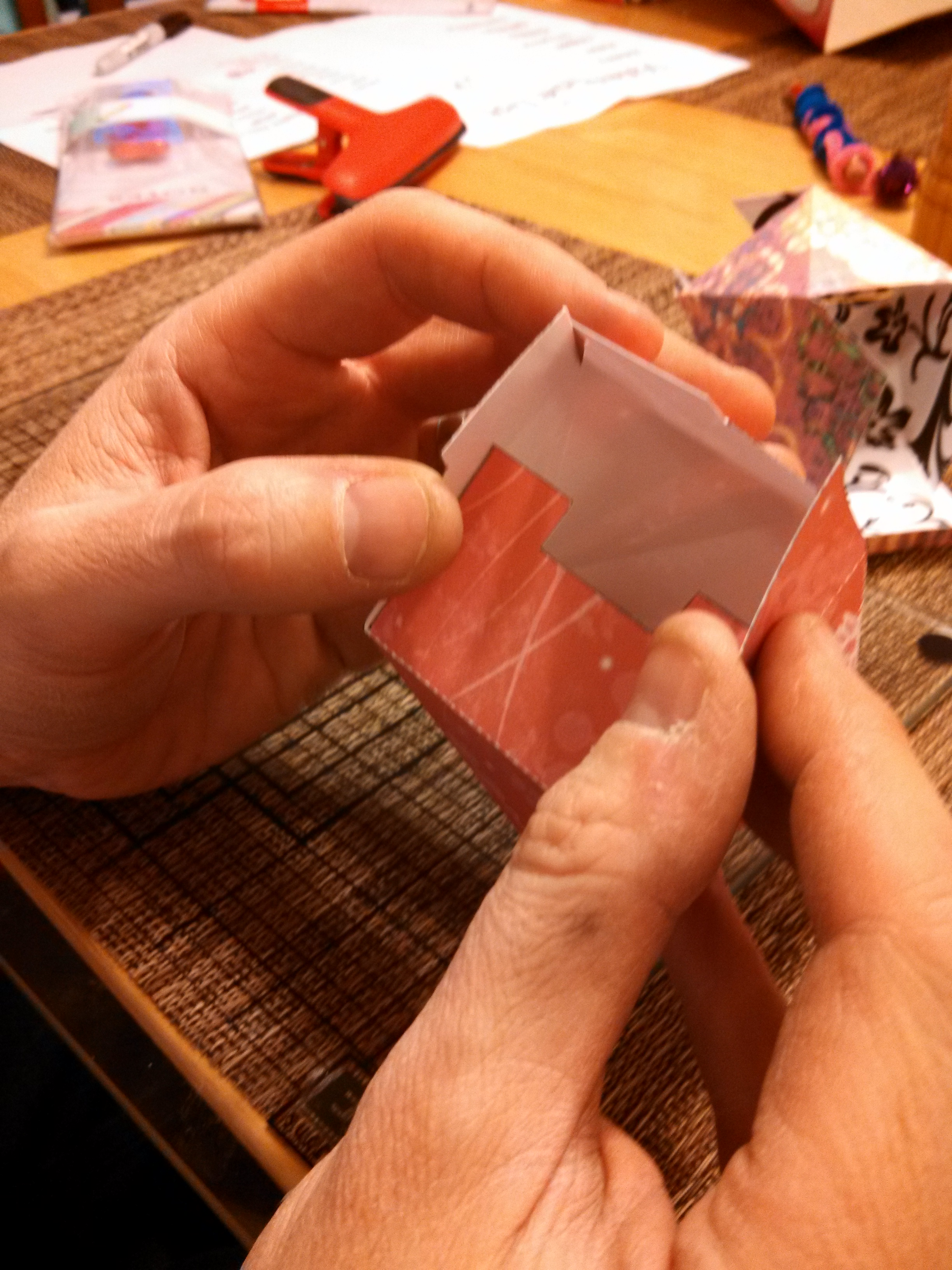 Picture of Fold and Glue the Bottom