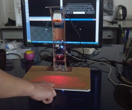 How to make laser projection virtual keyboard