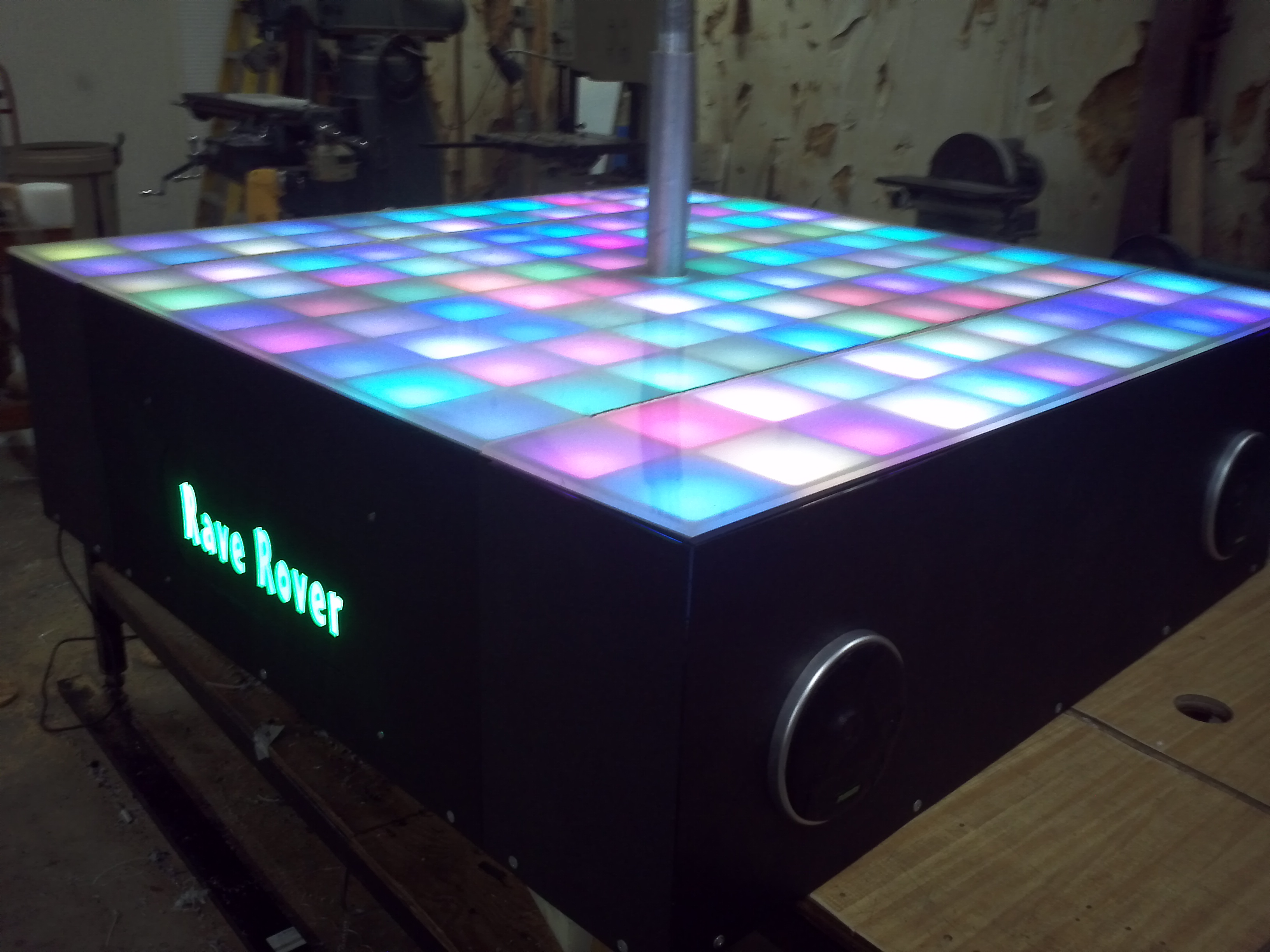 Picture of Rave Rover - Mobile Dance Stage