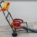 Leaf Blower Rolling Cart Makes Yardwork Faster and Easier