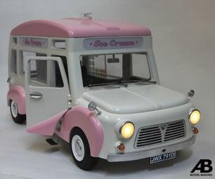 1:10 Stop Motion Ice Cream Van