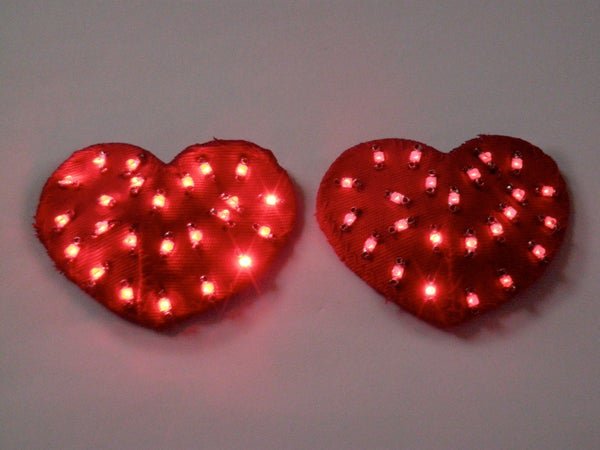 LED Heart Pasties
