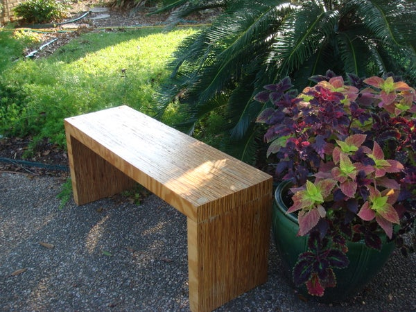 One Sheet Plywood Bench