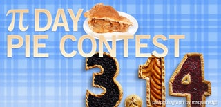 Pi Day Pie Contest