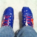 How To Resize A Pair Of Duct Tape Shoes