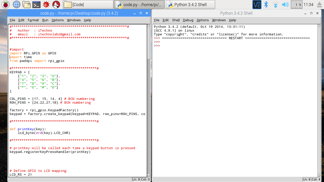 Picture of Python Code