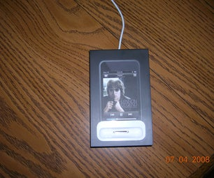 Cheap and Easy Ipod Dock!