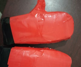 DIY Boxing Gloves