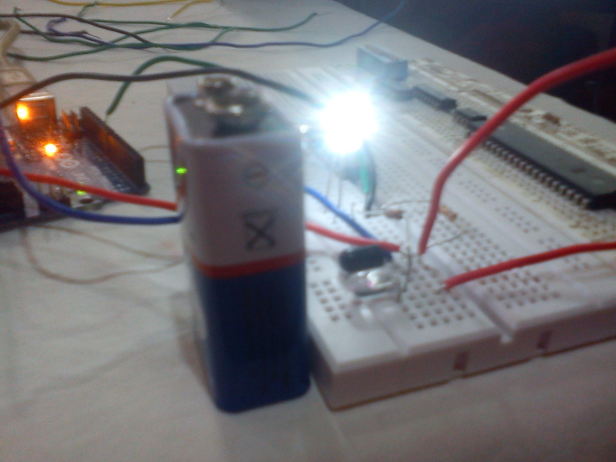 Picture of IR-Distance Sensor Homemade Tutorial