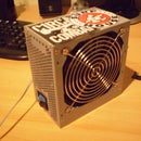 Ventilator made out of old PSU.