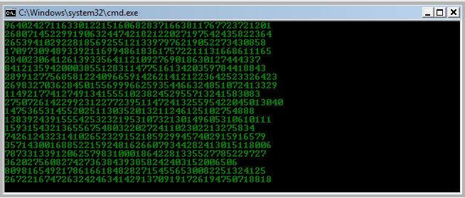Picture of Matrix Notepad Program