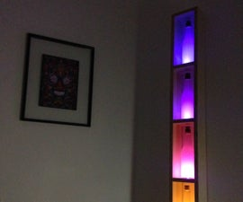 Automatic Neon Bottle Lamp With Arduino