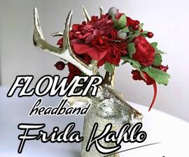 Floral Headband/Crown