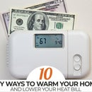 Top 10 DIY Ways to Warm Your Home & LOWER Your Heating Bill