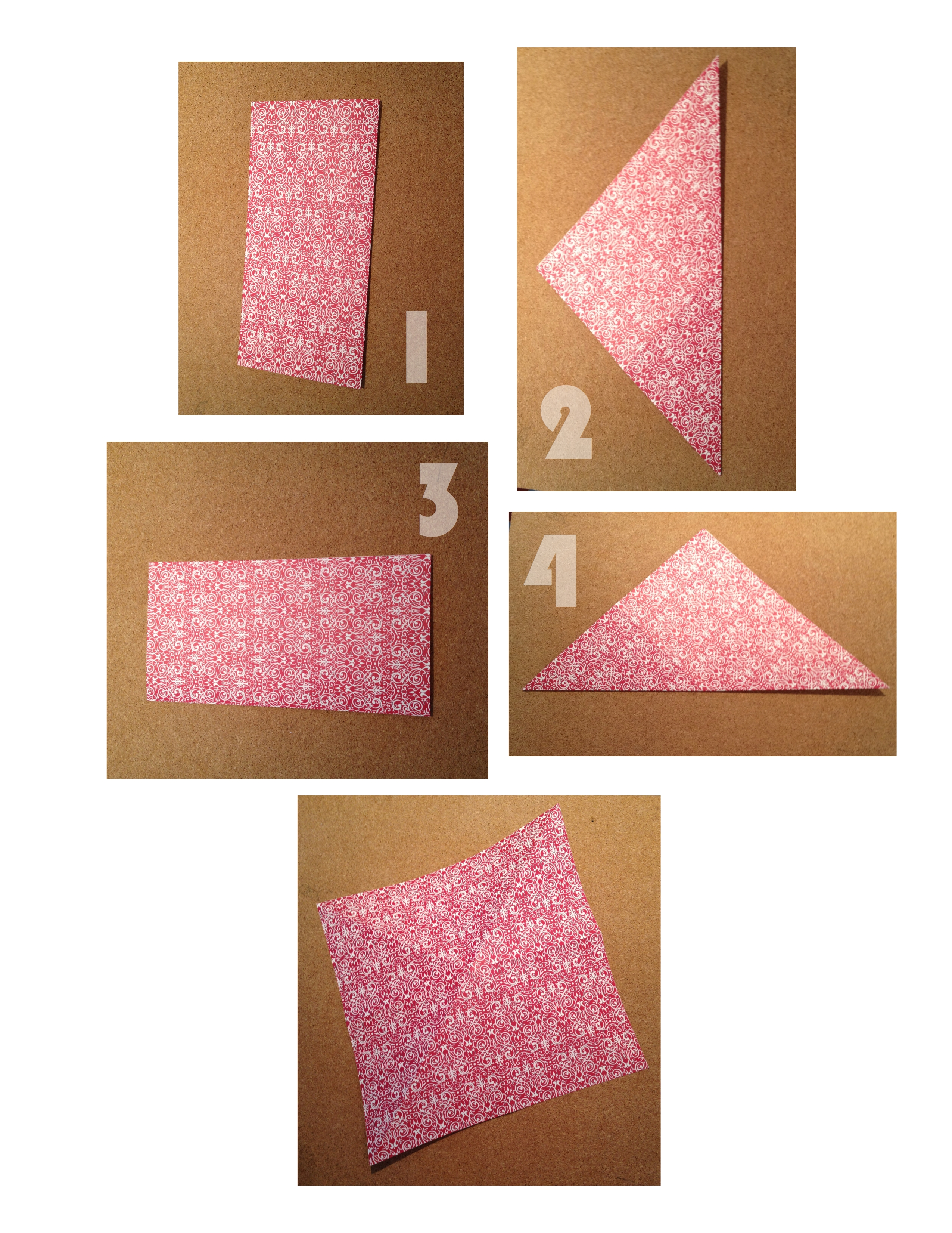 Picture of Fold Your Square...